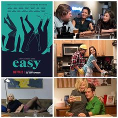 Easy on Netflix asks hard questions of the American lives. Compact intelligent and witty. Deep kindhearted and fair. Superb scripts directing and cast. Great show to watch and discuss. Yes! :) #easy #netflix #joeswansberg #tvshows #americanlife #drama #jkhknyc #chicago #easynetflix #mustwatch #arts