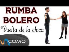 Aprende a bailar Rumba bolero paso a paso - YouTube