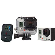Go Pro HERO3: Document all your gnarliest, proudest sports moments.
