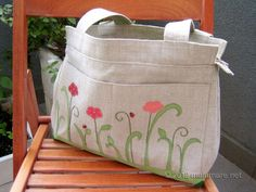 Pretty Flowers, love this bag, so lovely