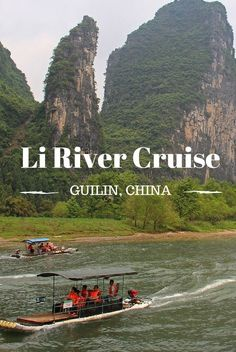 A cruise down the Li River is the best way to immerse yourself in the scenery of beautiful Guilin in Southern China.