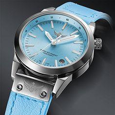 Nueva llegada YELANG V1010 Upgrade Versión T100 tritio azul luminoso impermeable Lady mujeres moda casual reloj de cuarzo reloj de pulsera - plateado bisel esfera de color azul: Amazon.es: Relojes