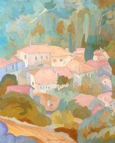 A Mountain Village - (Spyros Papaloukas)