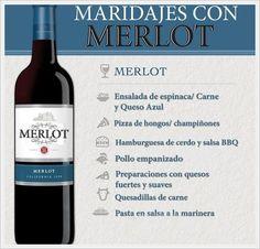 Acompanhamentos do Merlot Fruit Drinks, Wine Drinks, Alcoholic Drinks, Cocktails, Vino Merlot, Comida Diy, Best Red Wine, Dining Etiquette, Wine Guide