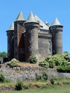 Montpeyroux - Château du Bousquet (Aveyron)