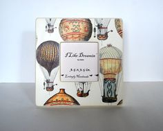 Hot+Air+Balloon+Festival+Picture+Frame+by+Mmim+on+Etsy