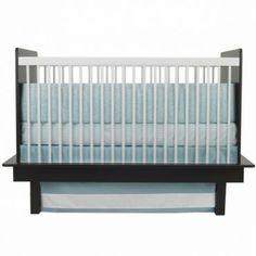 Oilo 3 Piece Crib Bedding Set (Raindrops Motif) - www.rightstart.com