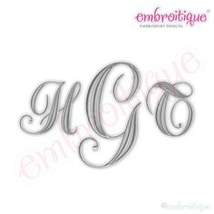 This is such a beautiful set for single letter and monogram projects! Each letter is an individual file that you can use to build monograms and personalized designs.   Sizes Included: 1, 1.5, 2, 2.5, 3, 3.5 - Satin Stitch - Uppercase A-Z  Dimensions and Stitch Count based on the letter A. Sizes Included: 1, 1.5, 2, 2.5, 3, 3.5 Design Dimensions: (1.04 x 1.01), (1.56 x 1.5), (2.09 x 2), (2.61 x 2.5), (3.13 x 3), (3.65 x 3.51) Stitch Count: 929, 1436, 2015, 2766, 3283, 4119 FORMATS: DST - EXP…