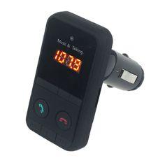 Hand Free Wireless Bluetooth FM Transmitter Modulator Car Kit MP3 Player SD USB LCD Remote Controll Car Music Player transmitter