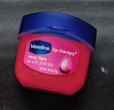 Vaseline Lip Therapy Rosy Lips. I need this! My lips get so cracked that I use Vaseline anyway but this is genius!