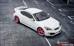 girly yet sporty car, hyundai genesis Coupe