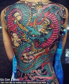 Back Tattoos For Guys, Full Back Tattoos, Full Body Tattoo, Body Art Tattoos, Sleeve Tattoos, Japanese Back Tattoo, Japanese Dragon Tattoos, Japanese Tattoo Designs, Tattoo Designs Men