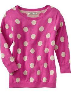 Women's Printed Crew-Neck Pullovers