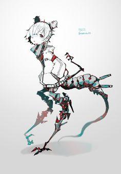 Sci Fi Anime, Mecha Anime, Armor Concept, Concept Art, Character Concept, Character Art, Robots Characters, Character Design Animation, Creepy Art