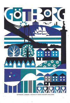 Maria Holmer Dahlgren - Ikea postcard by Sam's Myth, via Flickr