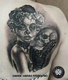 Najlepsze Obrazy Na Tablicy La Muerte Tattoo 246 W 2019