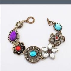 Brand new colorful bracelet. Firm Boutique Jewelry Bracelets