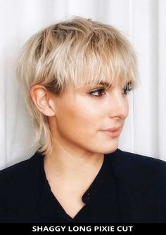 Style your hair into this fantastic shaggy long pixie cut if you want a modern look! Tap here to be inspired by more of the 28 most lovely for short shag hairstyles for a chic look. // Photo Credit: @salonpuremtl on Instagram Short Shag Hairstyles, Latest Hairstyles, Long Pixie Cuts, Shaggy, Photo Credit, Hair Cuts, Chic, Hair Styles, Inspired