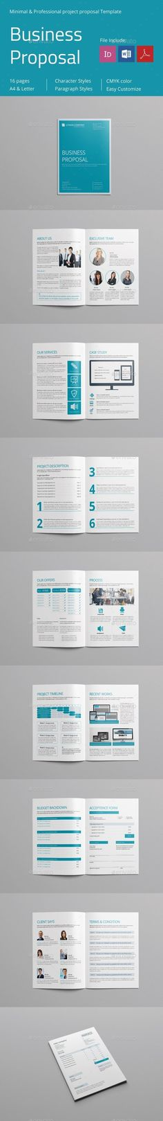Project Proposal Template 003 Project proposal, Proposal - professional project proposal