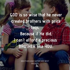 Tag-mention-share with Your Brother and Sister 💙💚💛👍 Brother Sister Love Quotes, Brother And Sister Relationship, Brother Birthday Quotes, Sister Quotes Funny, Brother And Sister Love, Happy Birthday Brother From Sister, Daughter Poems, Sibling Quotes, Family Quotes