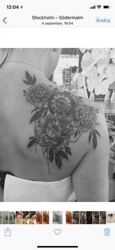 Peony tatoo