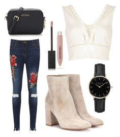 """""""Sans titre #366"""" by dailymakeuup on Polyvore featuring mode, WearAll, River Island, Gianvito Rossi, ROSEFIELD et Burberry"""