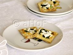 Asparagus, Goat Cheese & Pine Nut Tarts. These were created to pair with a 2011 Massimo Sauvignon Blanc from New Zealand. Lovely, light and delightful with the wine or alone.
