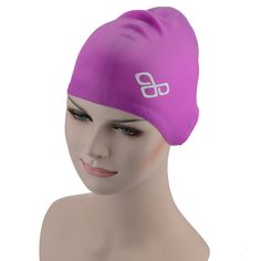 Tête Nylon//Spandex Enfant Swim Cap-royal bleu