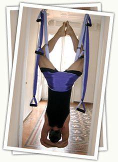 Yoga Inversion Swing *YOGA TRAPEZE* Wow!