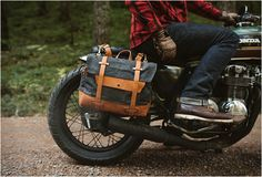 Pack Animal Motorcycle Saddlebags | Image