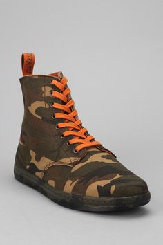 Dr. Martens Alfie 8-Eye Camo Canvas Boot
