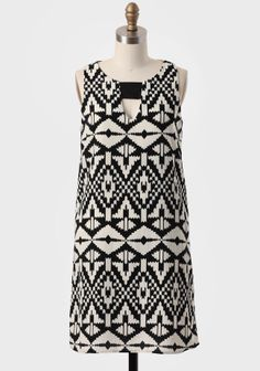 1b9086eddd1f Bainbridge Printed Shift Dress at  Ruche  Ruche Modern Vintage Dress