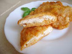 Smak Słodyczy: pierś z kurczaka w cieście serowym Deli Food, Food Design, Bon Appetit, Poultry, Love Food, Food And Drink, Healthy Eating, Chicken, Cooking