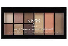 NYX Professional Makeup Go To Palette luomiväri- ja korostuspaletti - Sokos verkkokauppa