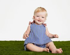 Sporty with a girly touch, your little girl will love crawling and playing around in this blue gingham matching short and shirt set. Shirt: Cotton Machine Wash Cold, Tumble Dry Medium Imported Bows on Shoulder Encased Elastic at Waist Blue Gingham Swimming Gear, Blue Gingham, Winter Sale, One Piece Dress, Baby Girl Fashion, Baby Accessories, Swim Shorts, Baby Wearing, Short Skirts
