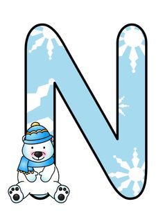 La maestra Linda: Inverno striscione Christmas Alphabet, Letter N, Classroom Door, Letters And Numbers, Cleaning Hacks, Scrapbooking, Initials, Stickers, Creations