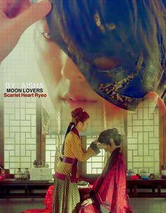 moon lovers .Iu -Lee joon gi ( wang so .hae soo)