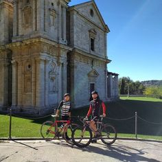Sunday ride.   Basilica di San Biagio #Montepulciano  #underthesunoftuscany     #stayandwonder #goandshoot #visual #instagood #visualsoflife #exploretocreate #peoplescreatives #visualaddicts #colorventures  #nothingisordinary  #rapha #castelli #specialized #maglianeracycling #acktsupply #pinarello #bianchi