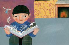 La magia de los libros (ilustración de Simona Mulazzani )