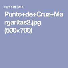Punto+de+Cruz+Margaritas2.jpg (500×700)