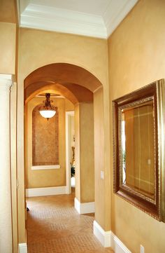 Speir Faux Finishes - Color washed walls