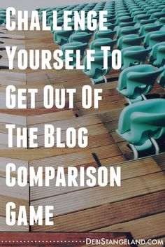 Blog comparisons have no value. Pushing yourself to be better will help you expand your reach. Learn how to tell the difference and get on with the business of growing a blog you love.