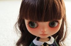 Custom Middie Blythe Lydia Green OOAK Free Picco by CharmsByIzzy