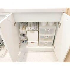 収納上手さんたちに学ぶ◎プチプラアイテムを使った、洗面台下の収納術! - Yahoo! BEAUTY