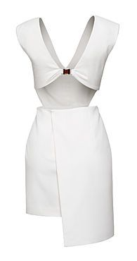 H & M sexy white hot dress! From Fashion Star on NBC. Designed by Sarah Parrott. H&m Fashion, Star Fashion, Fasion, Dress Fashion, Hot Dress, Peplum Dress, Sarah White, Passion For Fashion, Special Occasion