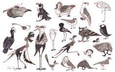 bird character design - Google Search