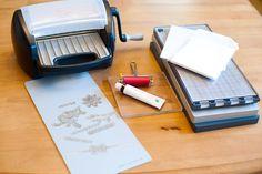 Letterpress | L Letterpress from Lifestyle Crafts Article on Scrapbook Update