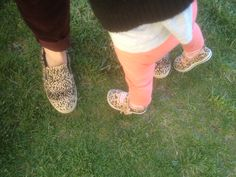 Mommy and me with our leopard shoes