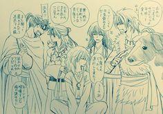 rey hiryuu y dragones