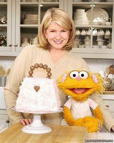 Pocketbook Birthday Cake - Martha Stewart